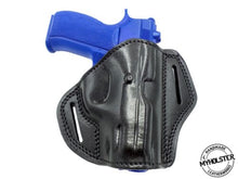CZ 75 Compact OWB Open Top Right Hand Leather Belt Holster - Pick your color