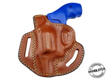 "Load image into Gallery viewer, Taurus 692 .38/.357/9mm 3""  OWB Thumb Break Right Hand Leather Belt Holster"