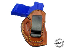 IWB Inside the Waistband Right Hand Leather Holster Fits Sig Sauer P365