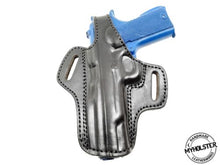 Load image into Gallery viewer, Rock Island Armory 1911 .45 OWB Thumb Break Leather Belt Holster - Pick your Hand & Color