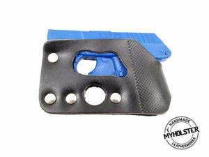 Concealed Carry Shoot-Through Wallet Holster for Kel-Tec P-3AT 380 (no laser)
