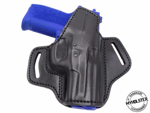 SIg SP2022 9mm Premium Quality Black Open Top Pancake Style OWB Belt Holster