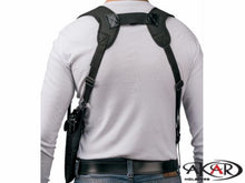 TAURUS MILLENNIUM PT-111 Vertical Carry Shoulder Holster Checkerboard Pattern