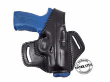 Load image into Gallery viewer, Sig Sauer SP2022 OWB Thumb Break Right Hand Leather Belt Holster