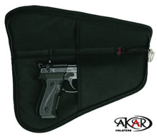 "Load image into Gallery viewer, Akar Pistol Rug Case, 3"" to 6"" Frame Auto's (Lock included)"