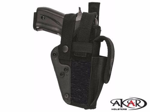RIGHT HAND TACTICAL OWB HOLSTER w/ MAGAZINE POUCH