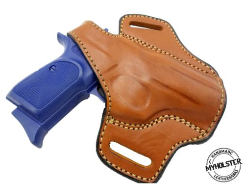 Rock Island Armory Baby Rock M1911-A1.380 ACP OWB Right Hand Thumb Break Leather Belt Holster
