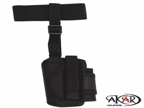Concealed Ankle Right Hand Nylon Holster fits Glock 42/43 & CLONES