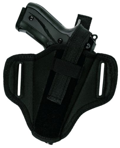 Tactical Nylon OWB Belt Slide Thumb Break Holster Fits GLOCK 43