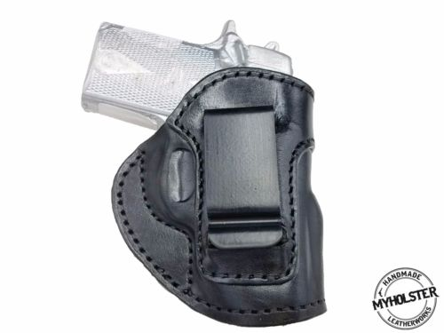 Springfield Micro Compact 1911 IWB Inside the Waistband Right Hand Leather Holster
