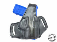 Load image into Gallery viewer, Walther PPS M2 OWB Thumb Break Leather Belt Holster