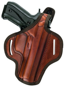 Springfield XD40 OWB Thumb Break Leather Belt Holster- Choose your Hand & Color-