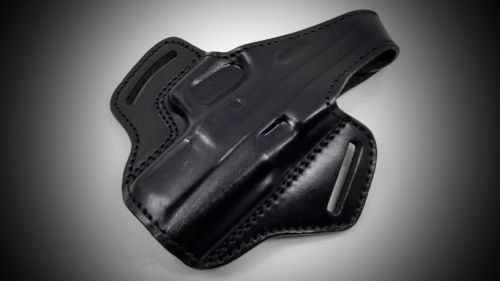 Black Pancake Belt Holster for SPRINGFIELD XDM 40