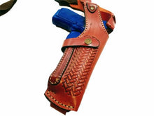 SIG Sauer P229 Vertical Shoulder Leather Holster - Pick your color