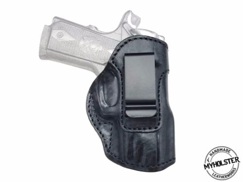 Smith & Wesson M&P 380 Shield EZ Leather IWB Inside the Waistband Holster