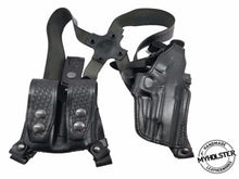 "Shoulder Holster with Double Mag Pouch for SPRINGFIELD XD45 4"" , MyHolster"