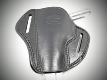 Load image into Gallery viewer, Black Open Top Pancake Belt Holster for WALTER 7.65