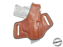 Load image into Gallery viewer, Kimber CDP II Right Hand OWB Thumb Break Leather Belt Holster