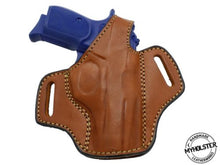 Load image into Gallery viewer, Rock Island Armory Baby Rock M1911-A1.380 ACP OWB Right Hand Thumb Break Leather Belt Holster
