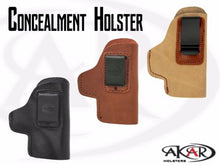 Ruger LCP IWB Inside Pants CCW Clip-On Holster - Choose Your Color