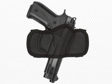 Akar Black Nylon Open Top Belt Holster Molded for Best Fit Compact