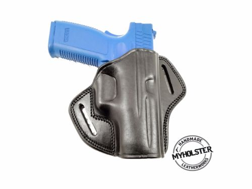 Open Top Belt Holster for Colt 1911 Commander Cocked and Locked 4
