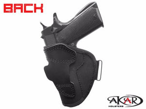 "SPRINFFIELD 4"" 1911 Open Top Molded Nylon Belt Slide Holster , Akar"