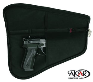 "(WSP) Pistol Rug Case, 3"" to 6"" Frame Auto's (Lock included)"