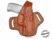 Walther P22 OWB Thumb Break Right Hand Leather Belt Holster