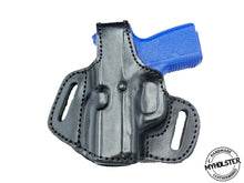 Load image into Gallery viewer, Sig Sauer P365 OWB Thumb Break Leather Belt Holster - CHOOSE YOUR COLOR AND HAND