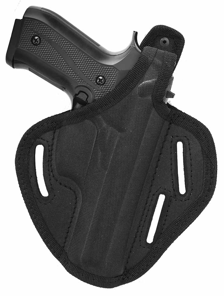 Nylon OWB Thumb Break Belt Holster Fits S&W M&P 9 40 45 4.25