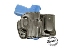 Glock 26/27/33 Belt Holster with Mag Pouch Leather Holster