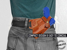 Load image into Gallery viewer, Smith & Wesson Model 645 SOB Small Of the Back Leather Holster