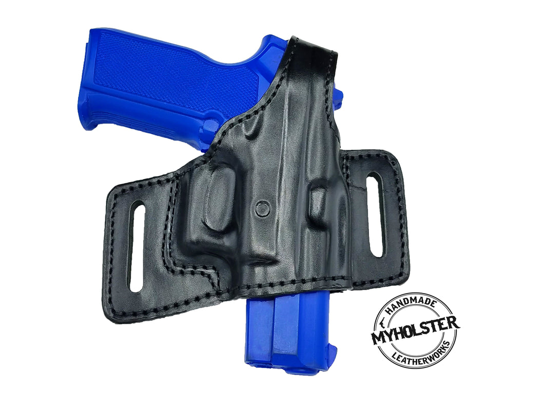 SAR K2P OWB Thumb Break Compact Style Right Hand Leather Holster