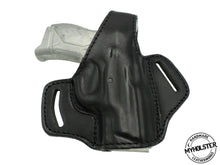 Smith & Wesson M&P Compact .40 S&W OWB Thumb Break Leather Right Hand Belt Holster