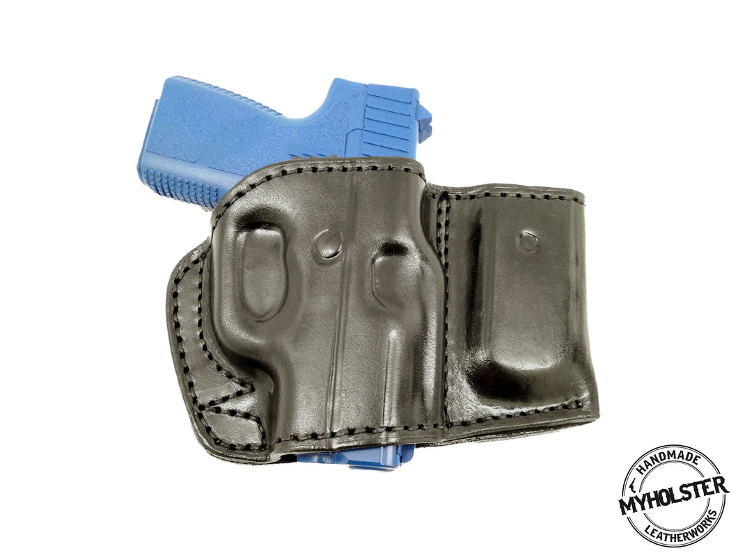 Kahr PM9 Belt Holster with Magazine Pouch – MyHolster