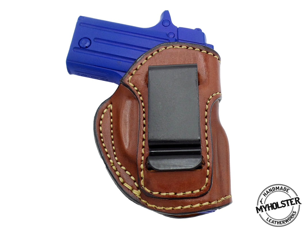 Ruger LCP IWB Inside the Waistband Right Hand Leather Holster