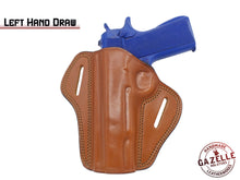 1911 4-Inch Colt, Kimber, Para, Springfield Right Hand Open Top Leather Holster