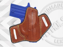 Sig Sauer P238 Premium Quality Black Open Top Pancake Style OWB Holster