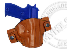 Load image into Gallery viewer, SIG Sauer P225 OWB Snap-on Right Hand Leather Holster