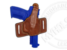 FN Five-seven OWB Quick Draw Leather Slide Holster W/ Thumb Break