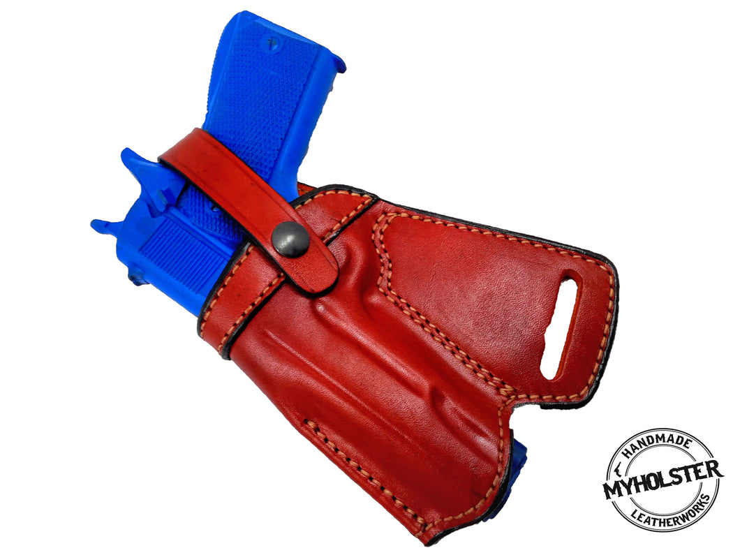 SOB Small Of Back Holster for 1911 5-Inch Colt, Kimber, Para, Springfield - Choose Your Color & Hand