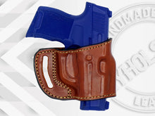 Sig Sauer P365 OWB Yaqui Slide Style Right Hand Leather Belt Holster