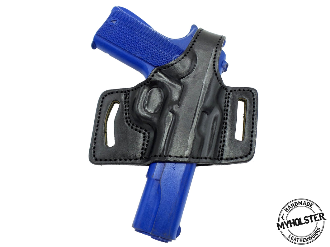 1911 4-Inch Colt, Kimber, Para, Springfield Springfield OWB Quick Draw Right Hand Thumb Break Belt Holster