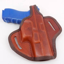 Brown Leather Right Handed Belt Holster For With thumbrake Molded BERETTA 92D CE