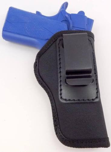 Black Nylon Left Handed IWB/ITP W/ Strong Steel Clip Holster XS