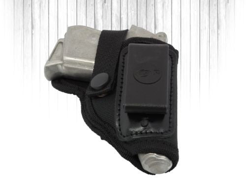 Akar, Universal  Black Nylon IWB/ITP W/ Clip and Thumb-Break Holster