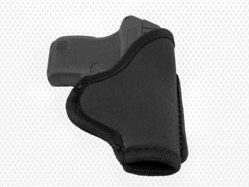 Akar Black Nylon Left Handed IWB/ITP W/ Strong Steel Clip Holster XS