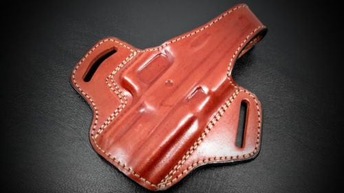 Premium Quality Brown Pancake Belt Holster for  SPRINGFIELD XDM 40
