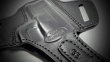 Black Pancake Belt Holster for S&W MP 9- 40 4""